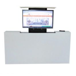Voetenbord met TV lift XL