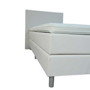 Boxspring Eenpersoons - Madryt 920 Wit