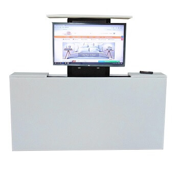 Voetenbord TV lift - Madryt 920 Wit
